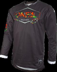 O'NEAL MAHALO Jersey LUSH V.20 Schwarz/Multi