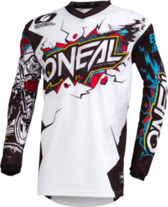 O'NEAL ELEMENT Youth Jersey VILLAIN V.19 Weiß