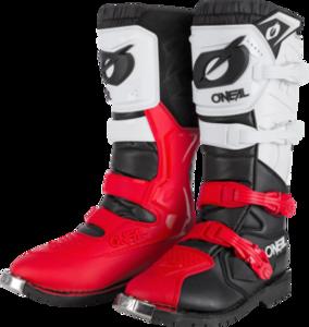 O'NEAL RIDER PRO Boot V.21 Black/White/Red