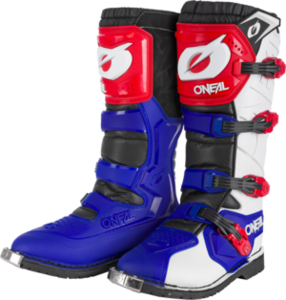 O'NEAL RIDER PRO Boot V.21 Blue/Red/White