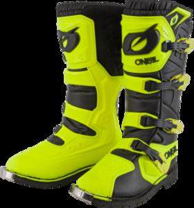 O'NEAL RIDER PRO Boot V.21 Neon yellow