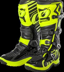 O'NEAL RMX Boot V.19 Black/Neon yellow