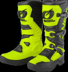 O'NEAL RSX Stiefel V.20 Schwarz/Neon gelb 39