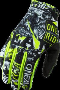 O'NEAL MATRIX Handschuh ATTACK V.20 Schwarz/Neon gelb
