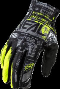 O'NEAL MATRIX Handschuh RIDE V.21 Schwarz/Neon gelb