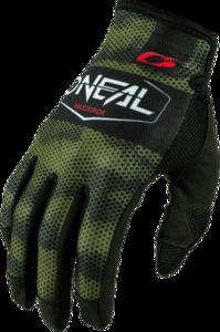 O'NEAL MAYHEM Nanofront Glove COVERT V.21 Black/Green