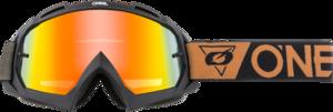 O'NEAL B-10 Brille SPEEDMETAL V.21 Schwarz/Braun