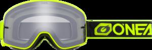 B-50 Goggle FORCE Schwarz/Neon gelb verspiegelt