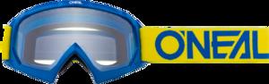 O'NEAL B-10 Youth Brille SOLID V.18 Gelb/Blau