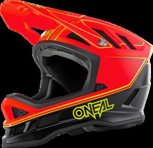 O'NEAL BLADE Hyperlite Helmet CHARGER V.18 Neon rot