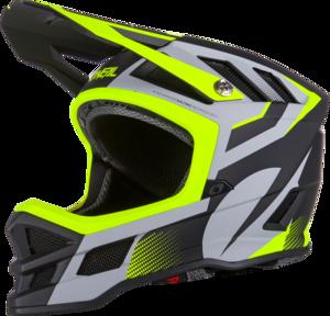 O'NEAL BLADE Hyperlite IPX® Helmet OXYD V.20 Gray/Neon yellow