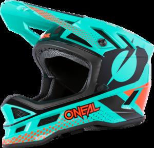 O'NEAL BLADE Polyacrylite Helm ACE V.20 Mint/Orange/Schwarz XS
