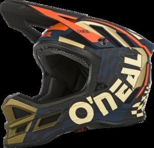 O'NEAL BLADE Polyacrylite Helmet ZYPHR V.21 Blue/Orange