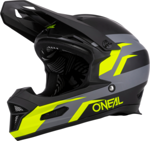 O'NEAL FURY Helmet STAGE V.21 Black/Neon yellow
