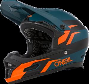 O'NEAL FURY Helmet STAGE V.21 Petrol/Orange