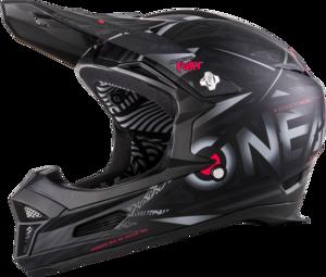 O'NEAL FURY Helmet SYNTHY V.18 Black