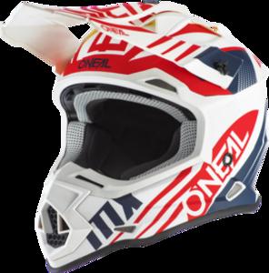 O'NEAL 2SRS Helmet SPYDE 2.0 V.20 White/Blue/Red