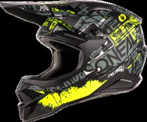 O'NEAL 3SRS Helmet RIDE V.21 Black/Neon yellow