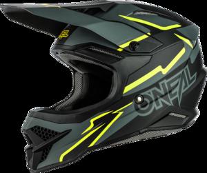 O'NEAL 3SRS Helmet VOLTAGE V.21 Black/Neon yellow