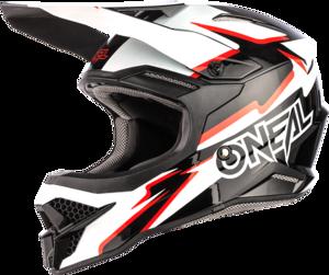 O'NEAL 3SRS Helm VOLTAGE V.21 Schwarz/Weiß