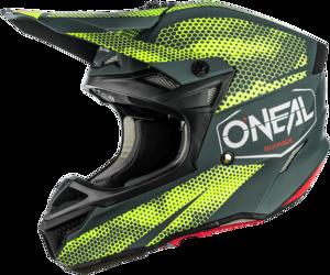 O'NEAL 5SRS Polyacrylite Helm COVERT V.21 Anthrazit/Neon gelb