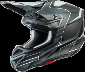 O'NEAL 5SRS Polyacrylite Helm SLEEK V.21 Schwarz/Grau