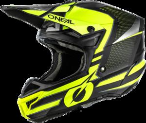 O'NEAL 5SRS Polyacrylite Helmet SLEEK V.21 Black/Neon gelb