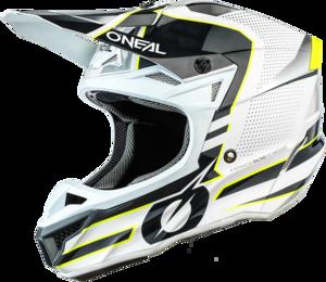 O'NEAL 5SRS Polyacrylite Helmet SLEEK V.21 White/Gray