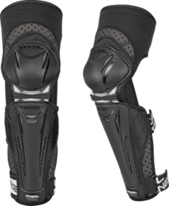 O'NEAL PARK FR Knee Guard CARBON LOOK V.17 Black/White