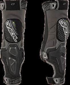 O'NEAL SINNER HYBRID Knee Guard V.18 Black/Gray