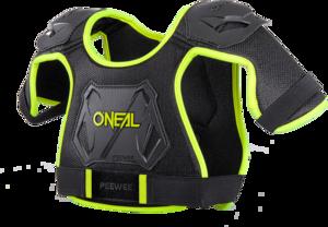 O'NEAL PEEWEE Protektoren-Oberteil V.19 Neon gelb