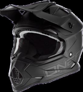O'NEAL 2SRS Helmet FLAT V.17 Black