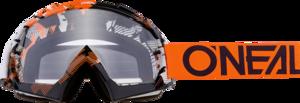 O'NEAL B-10 Brille PIXEL V.18 Orange/Weiß