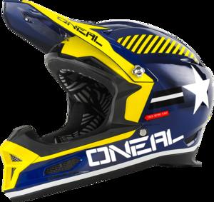 O'NEAL Visor FURY Helmet V.16 Blau