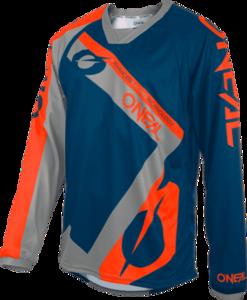 O'NEAL ELEMENT FR Jersey HYBRID V.20 Blue/Orange