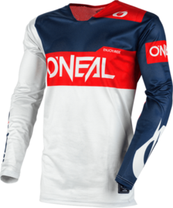 O'NEAL AIRWEAR Jersey FREEZ V.20 Gray/Blue/Red
