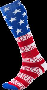 O'NEAL PRO MX Socke USA V.16 Blau/Rot One Size