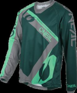 O'NEAL ELEMENT FR Jersey HYBRID V.20 Green/Mint