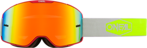 O'NEAL B-20 Brille PLAIN V.20 Rot/Neon gelb
