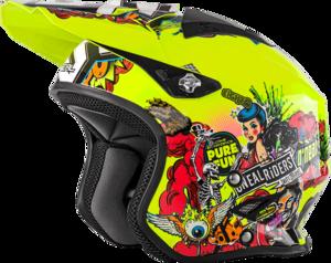 O'NEAL SLAT Helmet CRANK V.18 Neon gelb