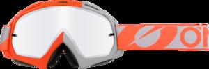 O'NEAL B-10 Brille TWOFACE V.21 Orange/Grau