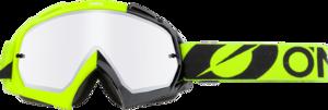 O'NEAL B-10 Brille TWOFACE V.21 Schwarz/Neon gelb