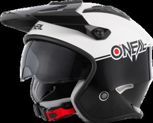 O'NEAL VOLT Helmet CLEFT V.21 Black/White
