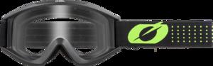 O'NEAL VAULT Brille SOLID V.21 Schwarz/Neon gelb