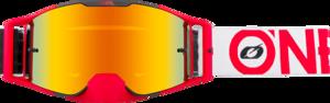 O'NEAL B-30 Goggle BOLD V.21 Black/Red
