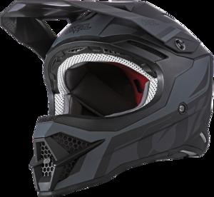 O'NEAL 3SRS Helm HYBRID V.21 Schwarz/Grau