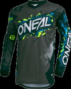 O'NEAL ELEMENT Jersey VILLAIN V.20 Neon gelb