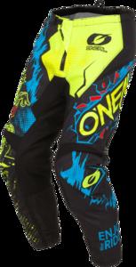 O'NEAL ELEMENT Hose VILLAIN V.20 Neon gelb