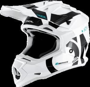 O'NEAL 2SRS Helmet SLICK V.19 White/Black