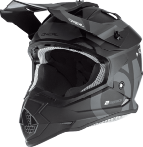 O'NEAL 2SRS Helm SLICK V.19 Schwarz/Grau